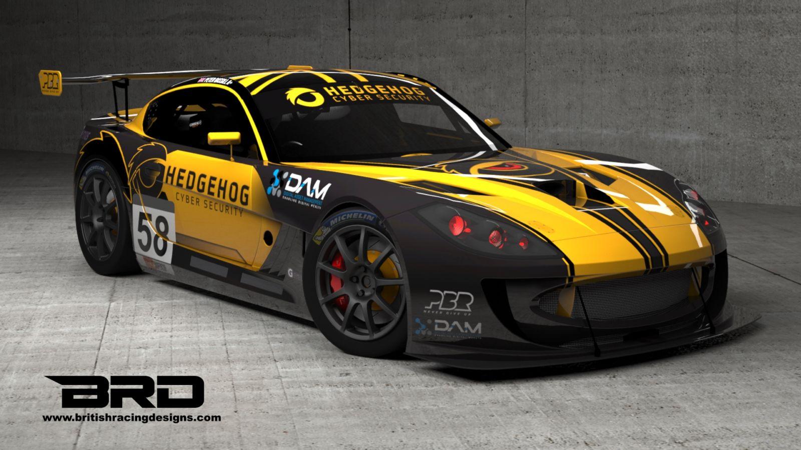 DAM sponsors Peter Bassill Racing – Ginetta GT4 SuperCup