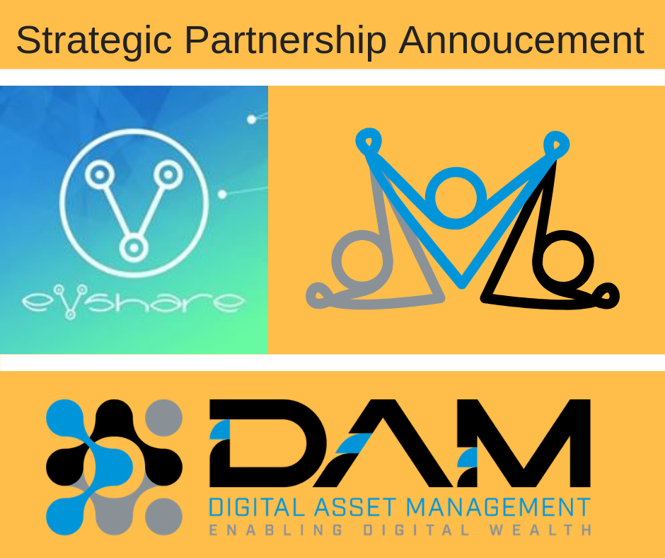 DAM and EVShare Strategic Partnership Announcement