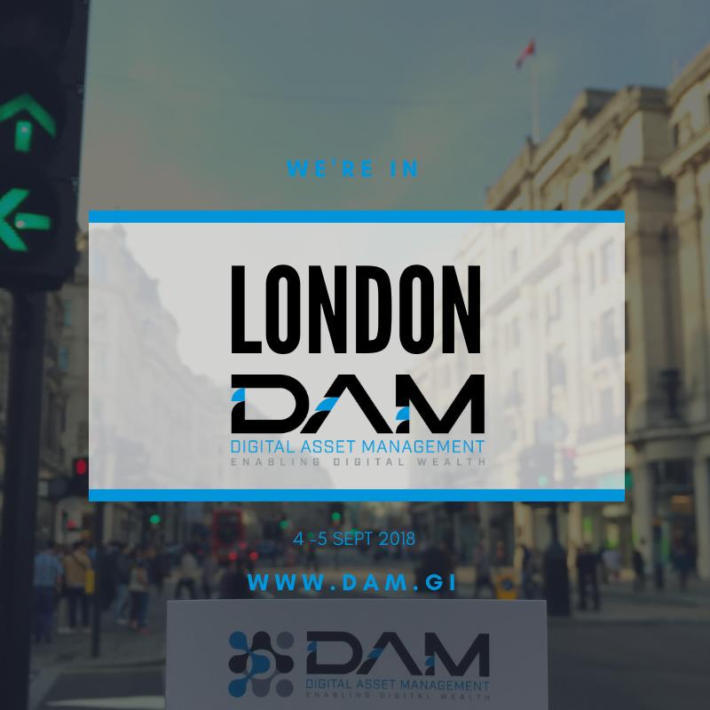 DAM attends London's World Blockchain Forum