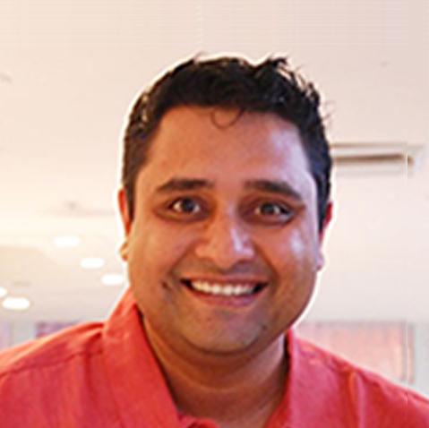 A portrait of Samarjit Das