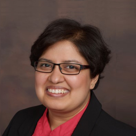 A portrait of Rushita Bagchi