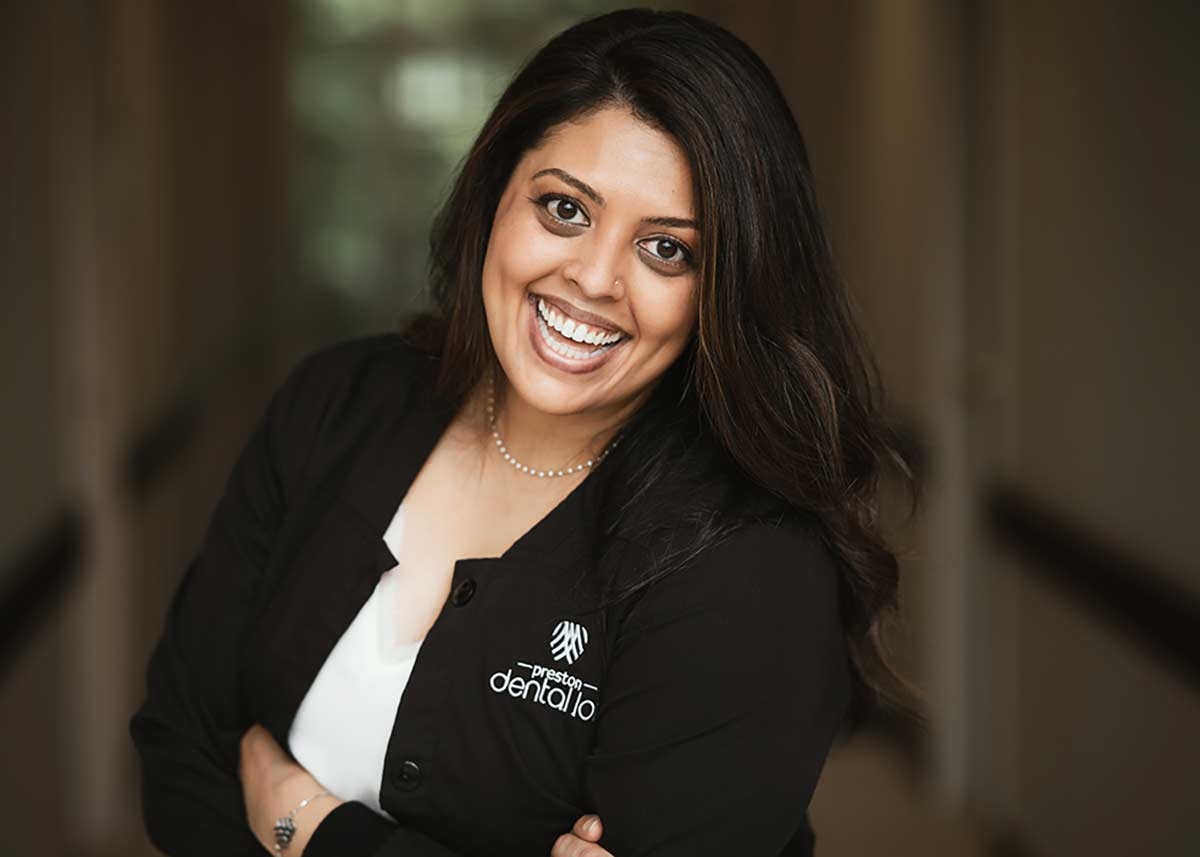 Close-up photo of Dr. Meenal Patel