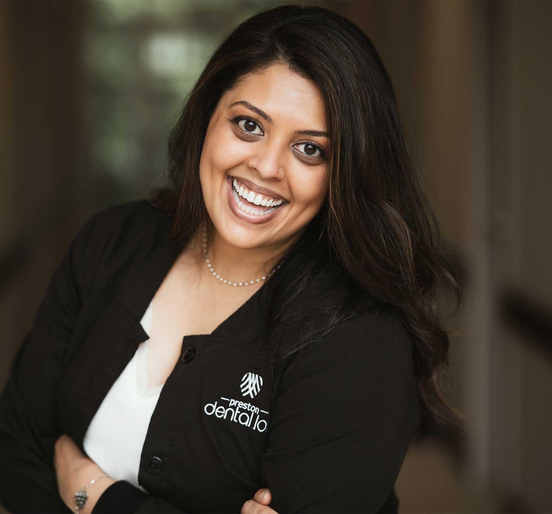 Invisalign dentist Dr. Menal Patel