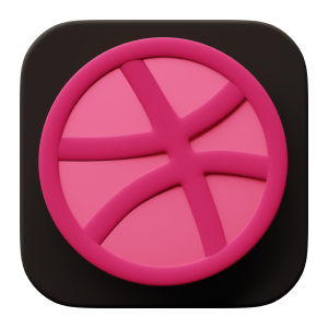 Dribble® Icon