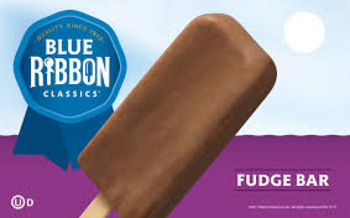 blue ribbon fudge bar