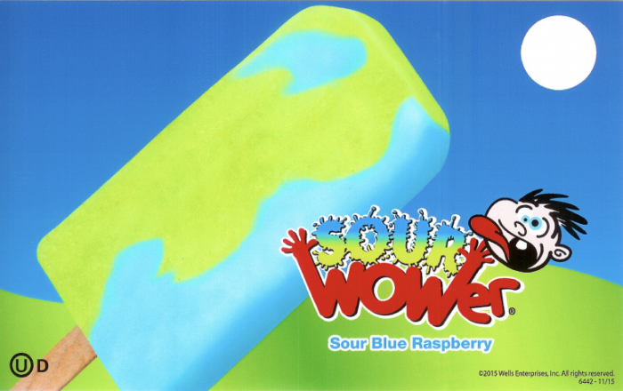 sour wower popsicle