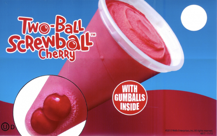 cherry two ball screwball