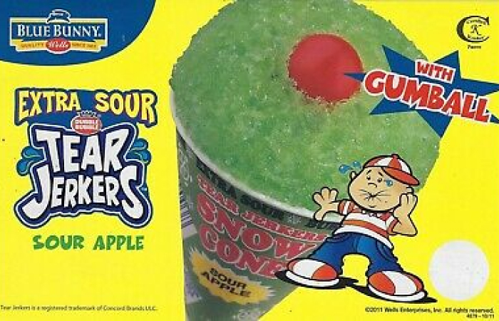 blue bunny extra sour tear jerkers