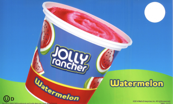 jolly ranger ice cream truck watermelon