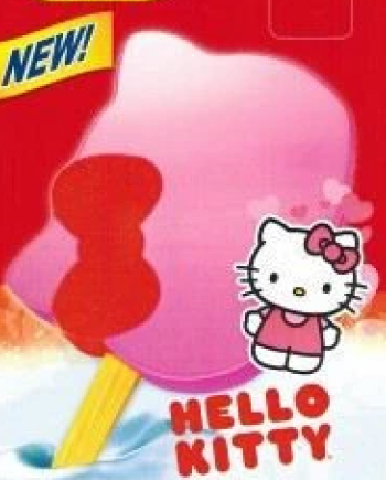 hello kitty popsicle