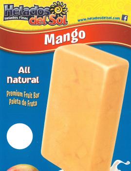 Helados Del Sol Mango