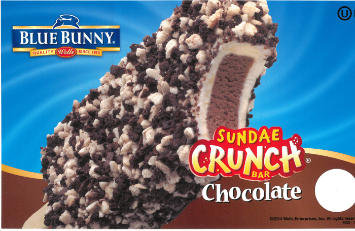 blue bunny super crunch
