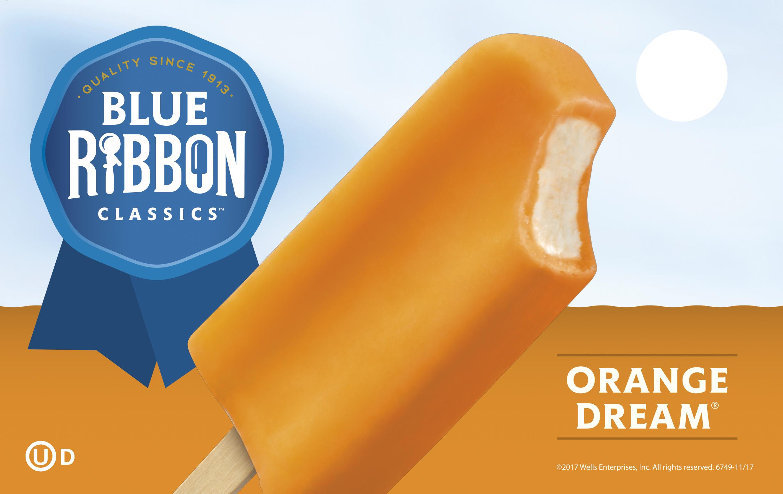 blue ribbon orange dream bar