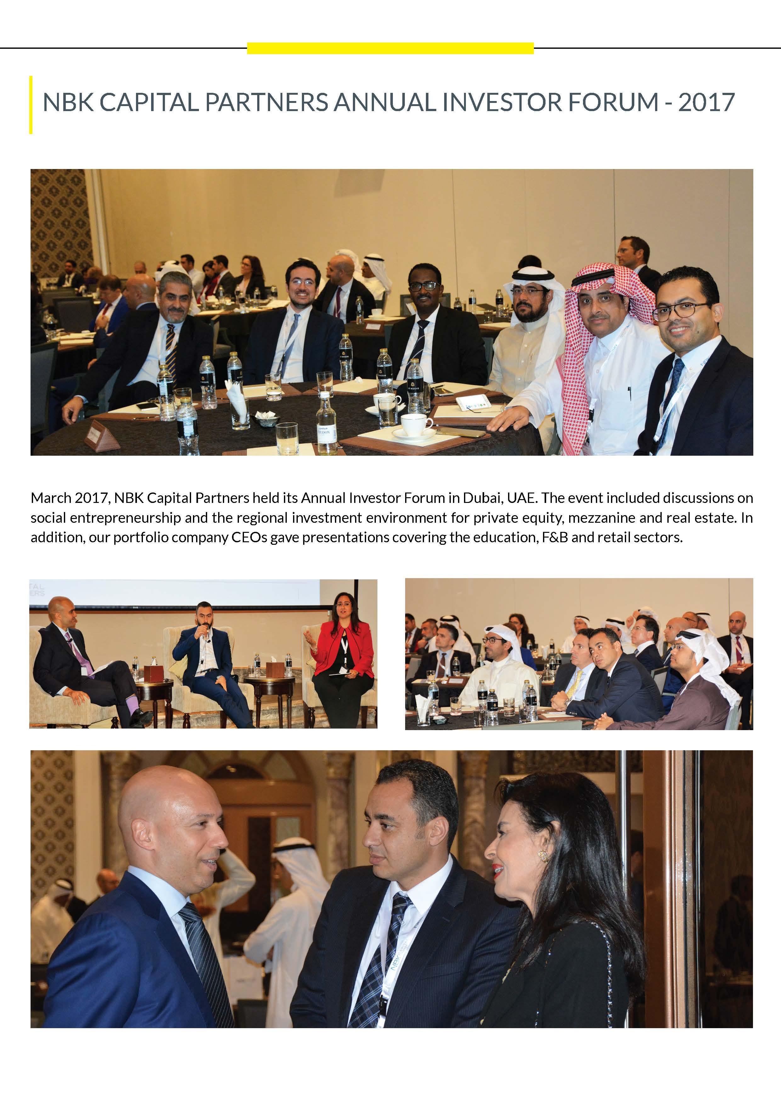 Annual Investor Forum 2017