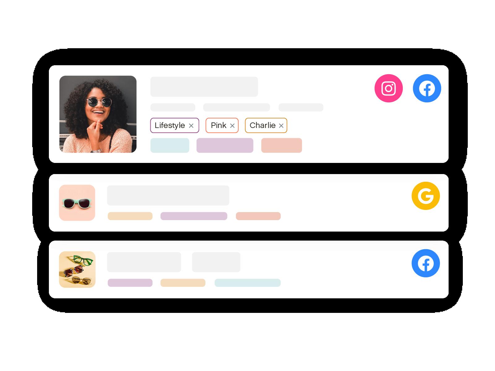 A Digital Label-Maker for Ad Assets