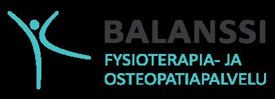 Fysioterapia- ja osteopatiapalvelu Balanssi I Logo