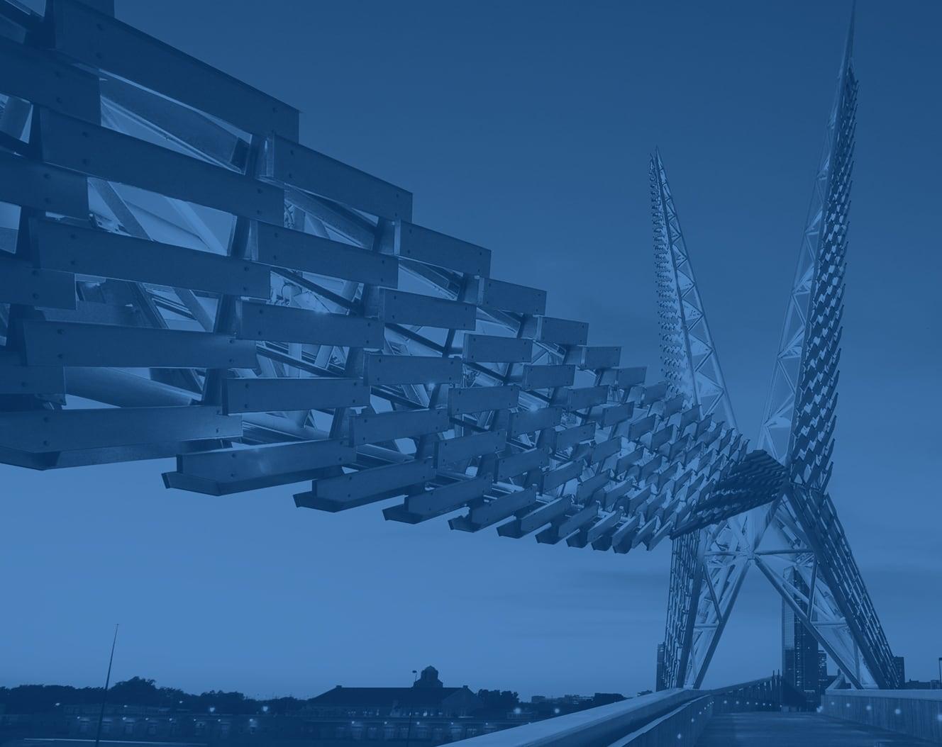 Skydance Bridge in Oklahoma City