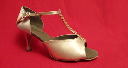 Women's T-Bar Latin Dance Shoes