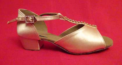 Girl's Diamante Dance Shoes