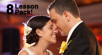 Silver Bridal Dance Package - 8 x 1 hour lessons