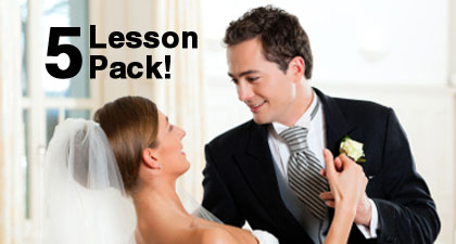 Bronze Bridal Dance Package - 5 x 1 hour lessons