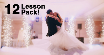 Gold Bridal Dance Package -  12 x 1 hour lessons