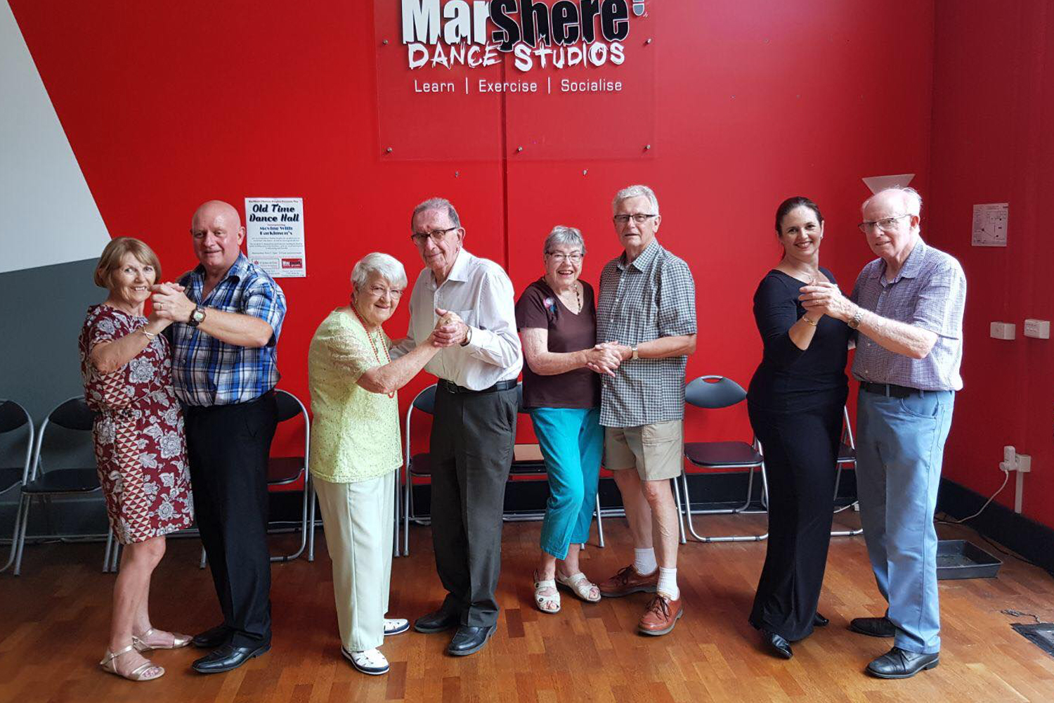 Dance classes for people of all ages and abilities at MarShere Chelsea Heights