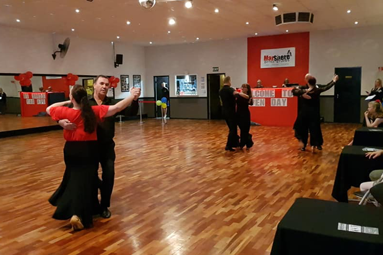 Adult social ballroom classes at MarShere Cranbourne