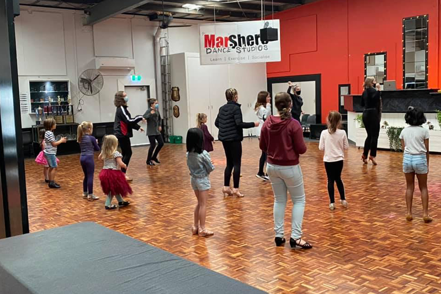 MarShere Ferntree Gully Kids classes are a fun way to get your child moving