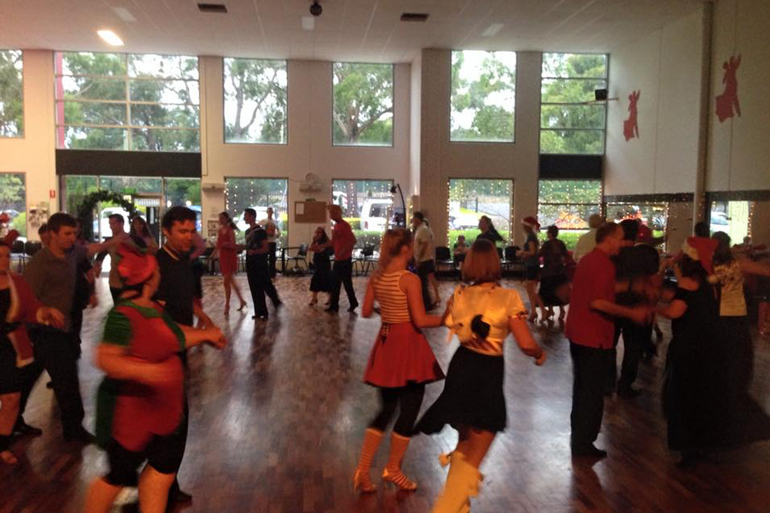 Adult and Teen social dance classes