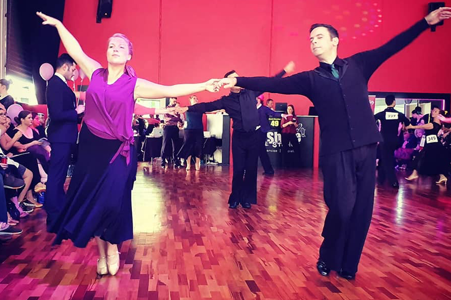 Catering for beginners through to advanced dancers