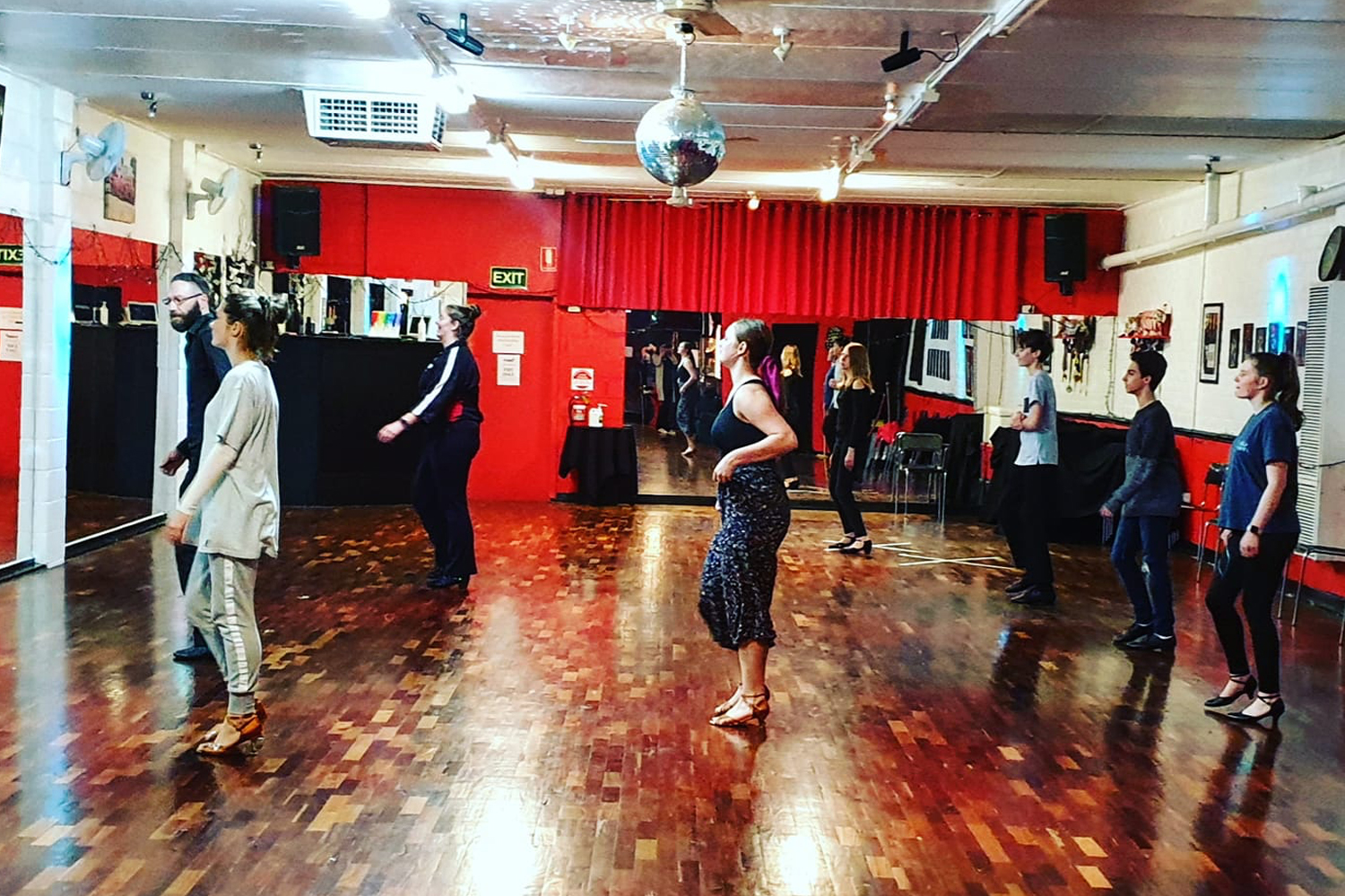 Adult and Teens learn to dance classes at MarShere Heathmont