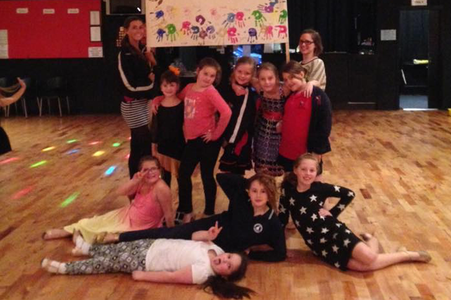 Kids and Teens learn to dance classes