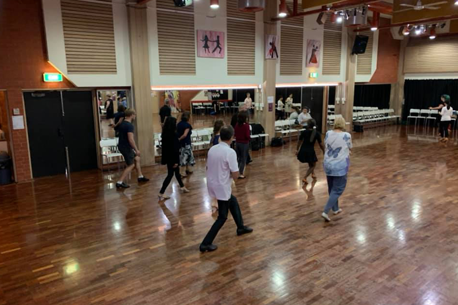 Adult beginner learn to dance class at MarShere Nunawading
