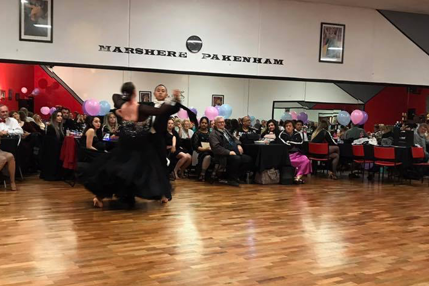 Have fun, socialise and meet new people while learning to dance