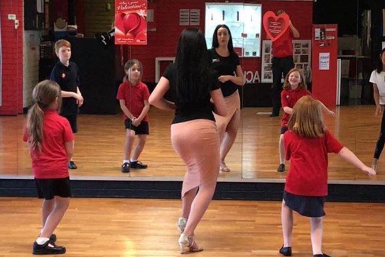 Kids and Teens learn to dance ballroom classes