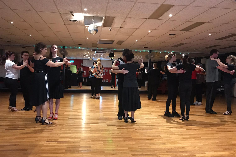 Social ballroom classes at MarShere Ringwood