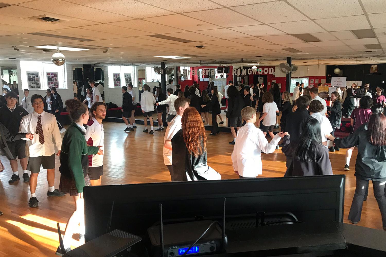 Social dancing at MarShere Ringwood