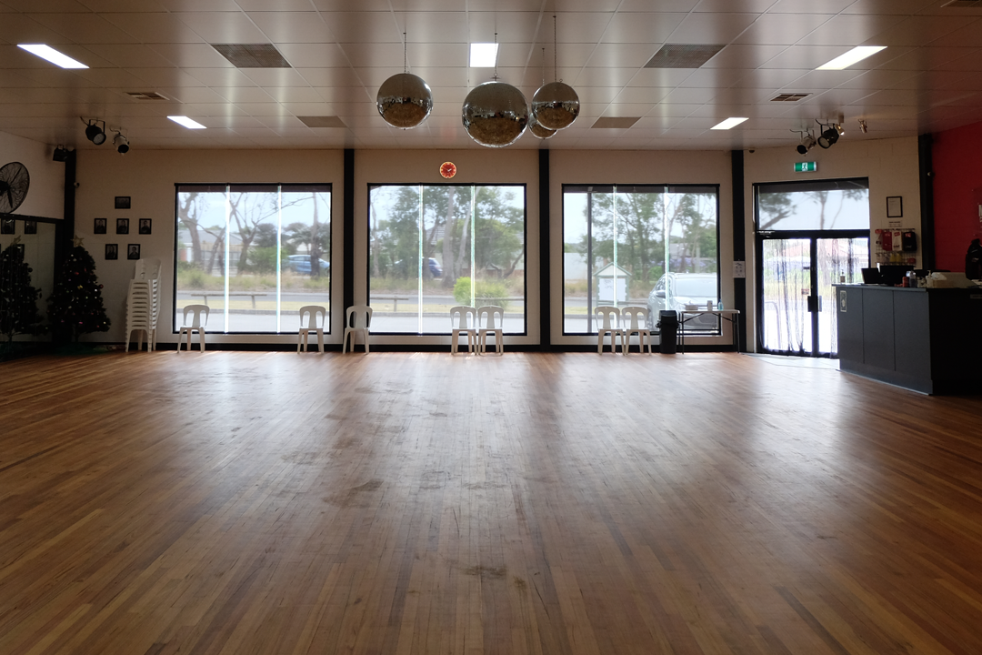 MarShere Hastings dance studio interior