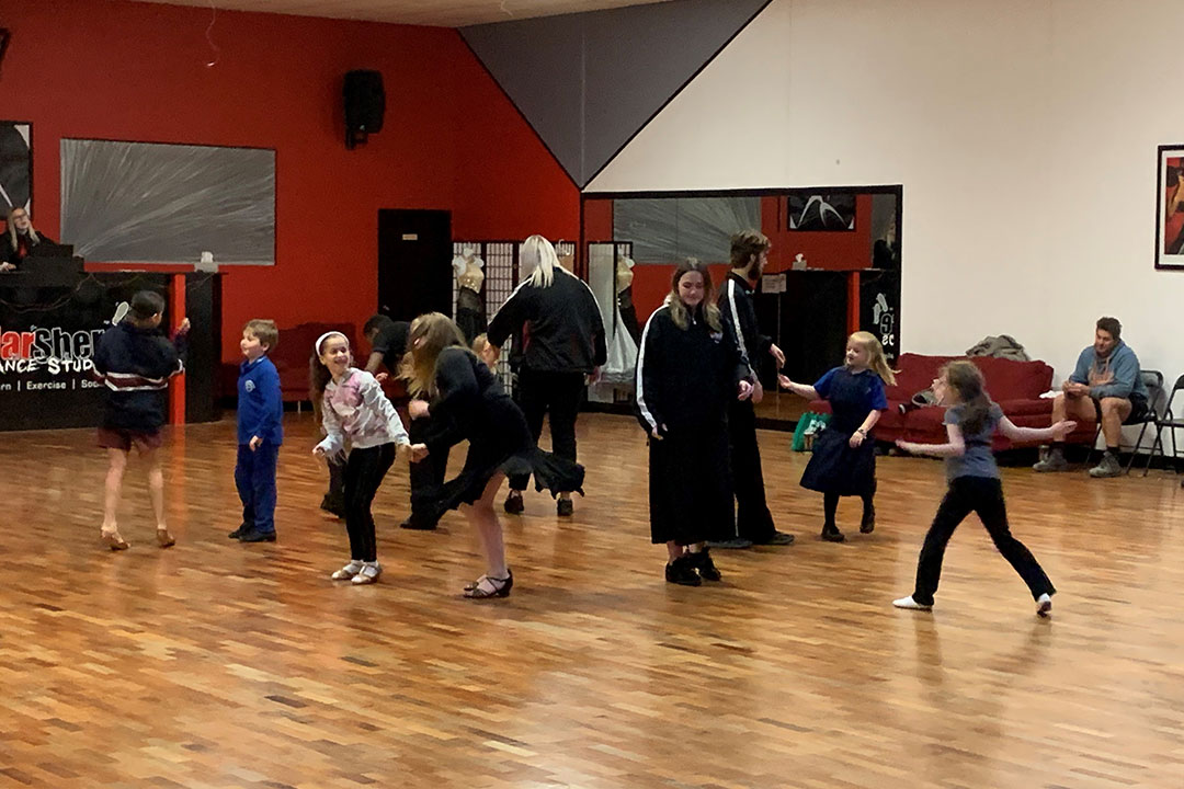 Kids and Teens dance classes