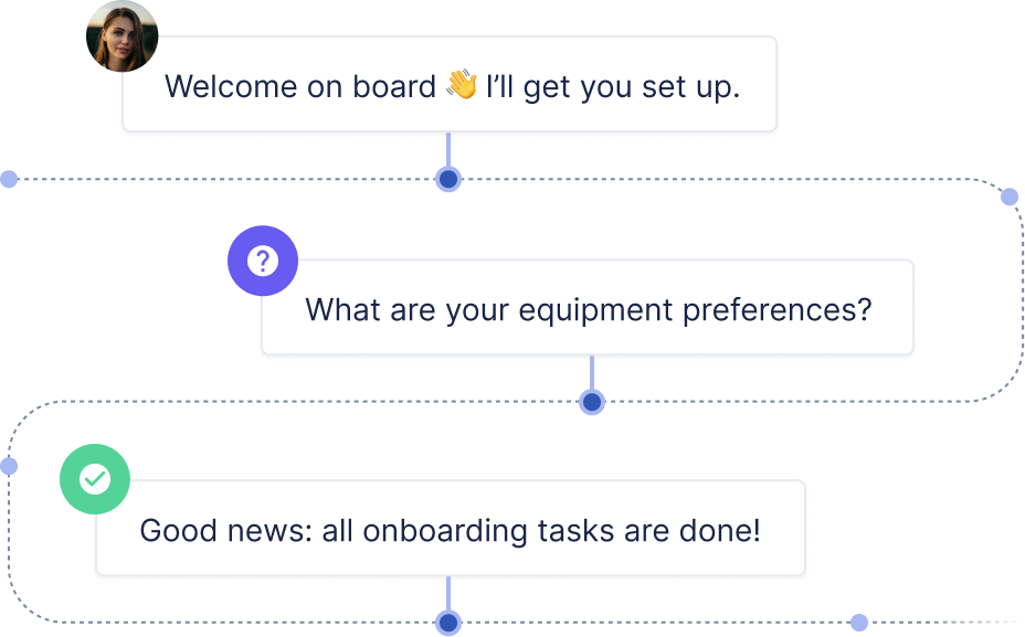 automate onboarding in Back