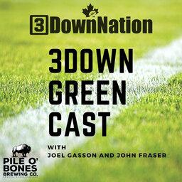 3Down Green Cast