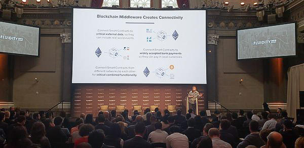 Photo of Chainlink keynote