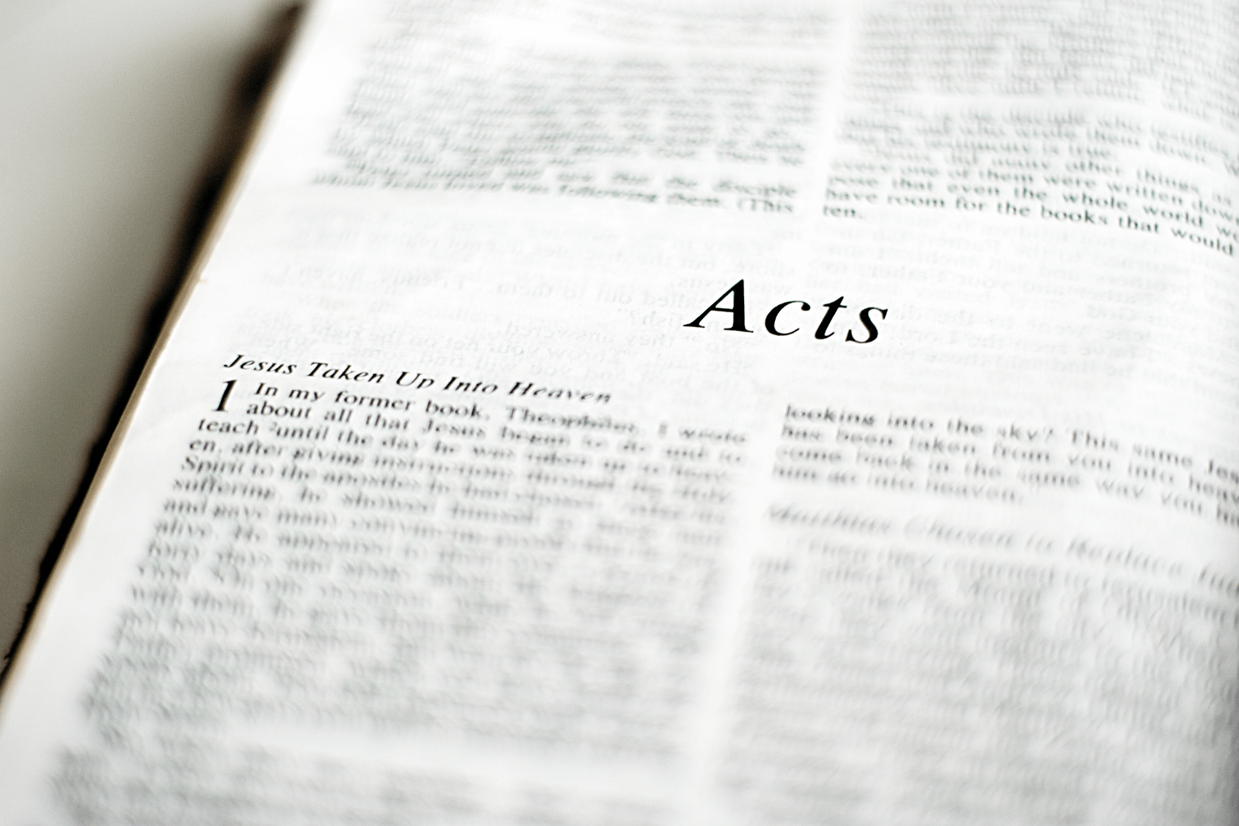 What Can Seniors Learn From the Book of Acts?