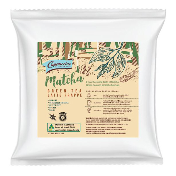 Matcha Green Tea Powder Mix 1Kg