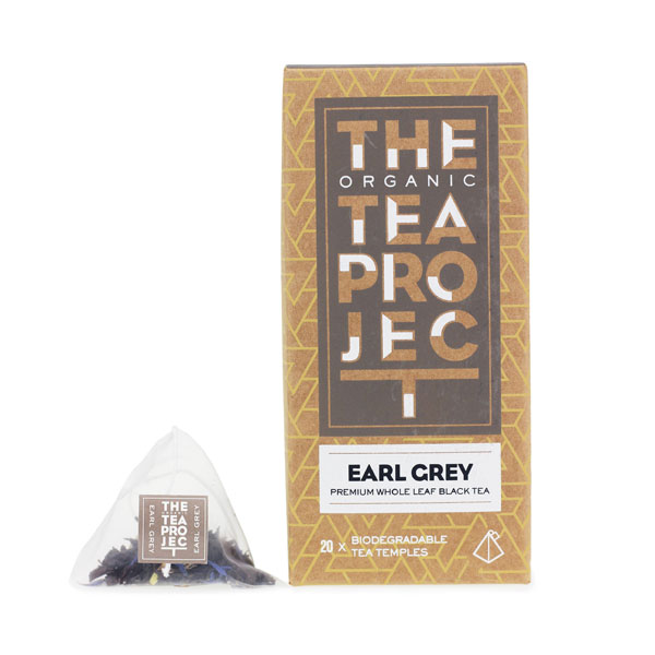 Organic Tea Project Earl Grey 100 Teabag bulk pack