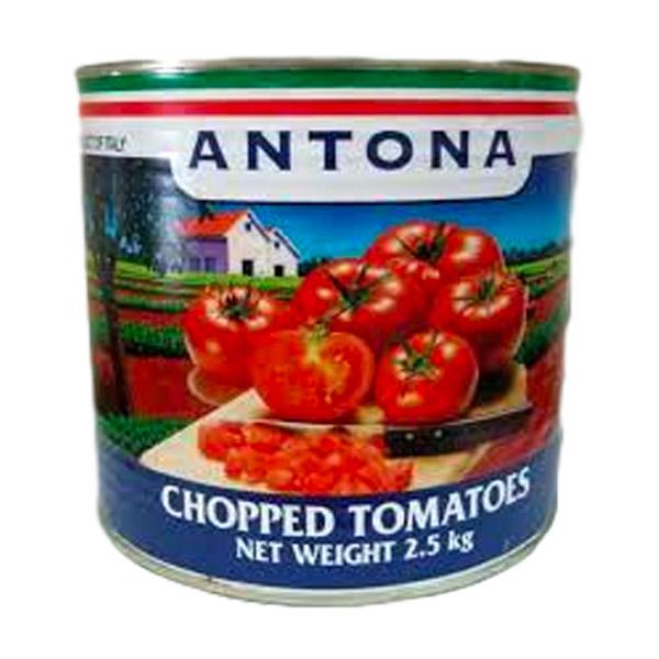 ANTONA Chopped Tomatoes 2.55 kg (6/ctn)