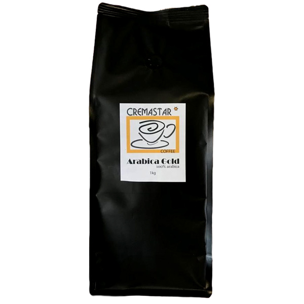 Arabica Gold Coffee Beans Blend (6x1kg) Carton