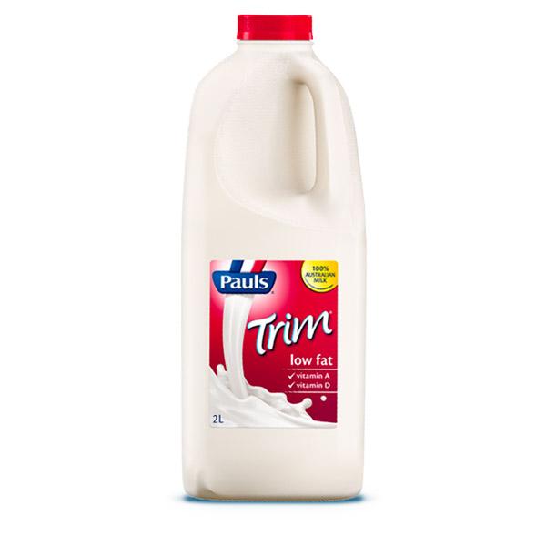 Trim Milk 2Lt Pauls Professional