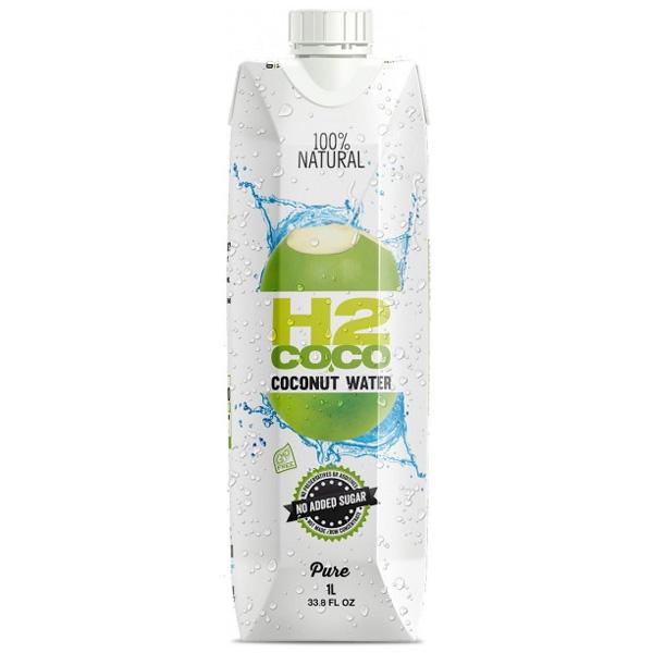 H2coco Pure Coconut Water (6 x 1L)